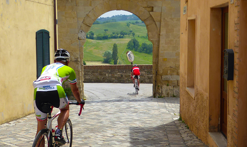 Itinerario Road Bike: San Leo